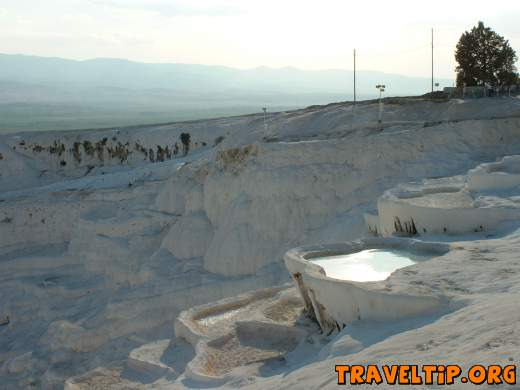 Turkey - Pamukkale - West Turkey - Pamukkale - White Terraces -